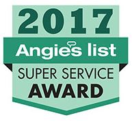 Angie's List Super Service Award Winner 2017