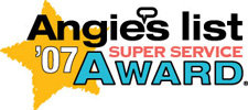 Angie's List Super Service Award Winner 2007